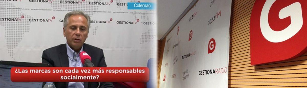 El Observatorio de Branding  en el espacio mensual sobre branding y marcas patrocinado por Coleman CBX con Gestiona Radio