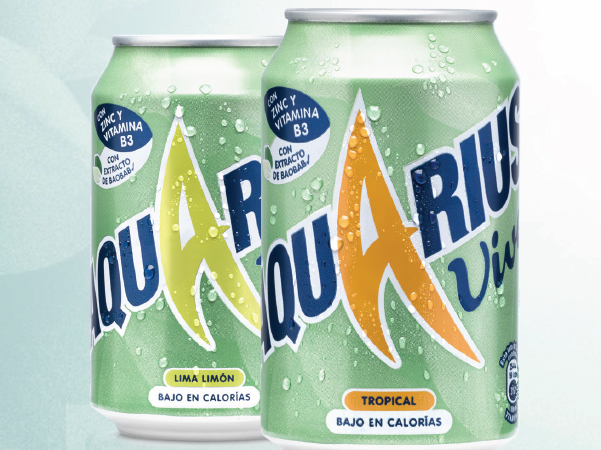 packaging Aquarius 2016 verano