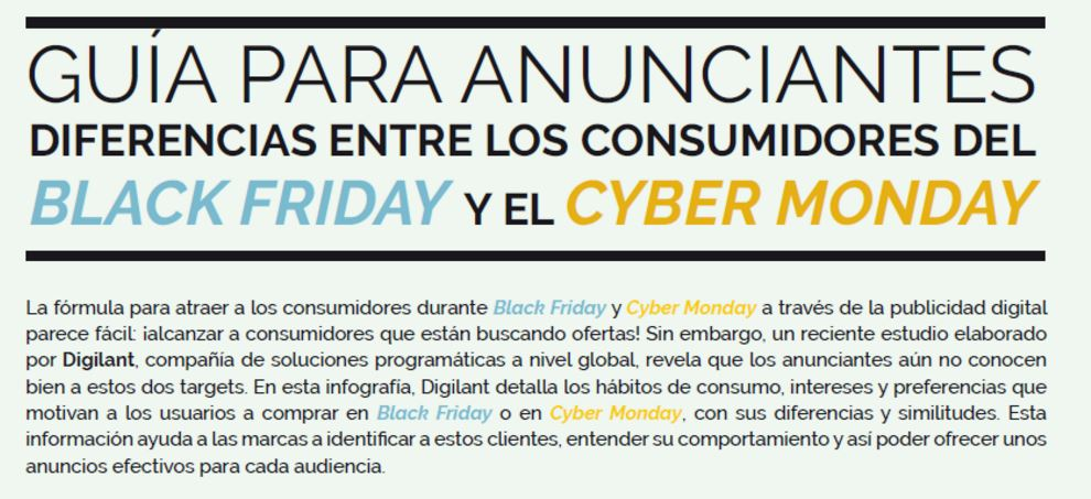 Black friday y ventas del sector retail