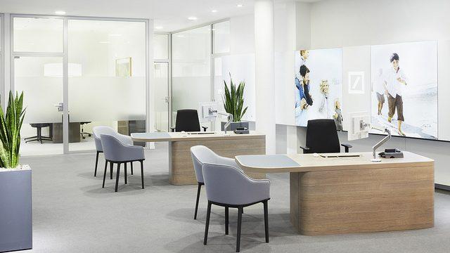 Imagen de marca c mo dise ar una oficina de atenci n al for Como remodelar una oficina